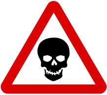 Warning Traffic Sign