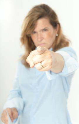 Aggressive wife