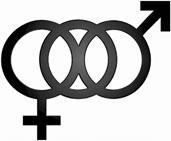 Bisexual symbol